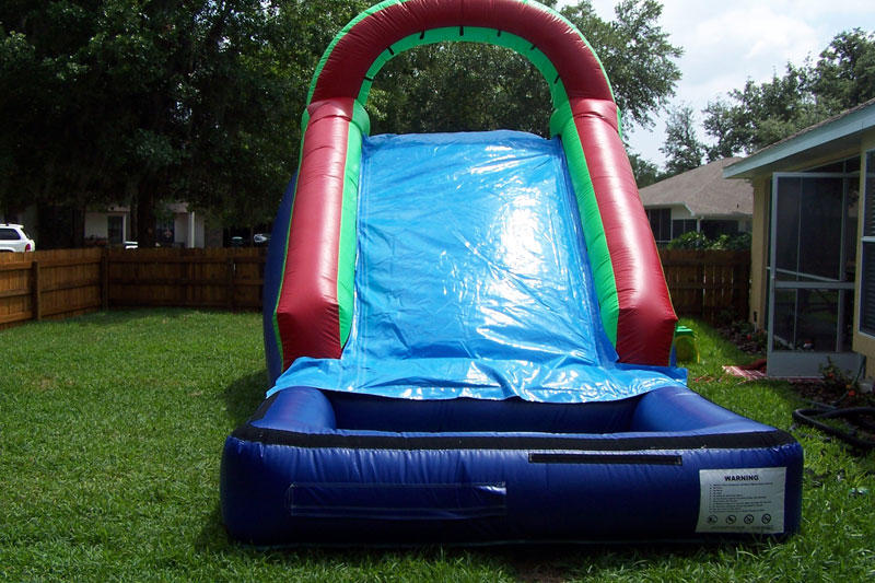 Backyard Water Slide Images  HappyKidsInflatablescom